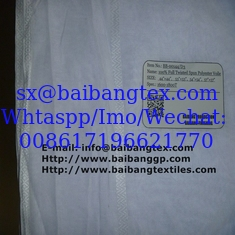 China JACQUARD SELVEDGE SPUN POLYESTER VOILE FABRIC supplier
