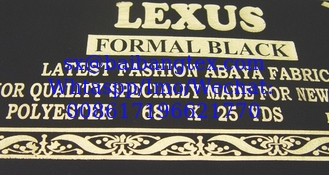 China Abaya Black Fabric supplier