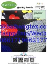 China Knitting Bubble Fabric with soft finish, make garments, skirts, lady pants. supplier