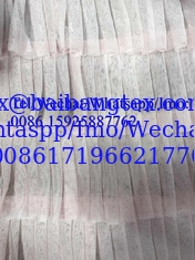 Polyester ruffle girl skirt fashion design