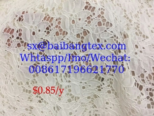 lace fabric stock lot