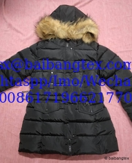 China Ladies coat stock cheap sale supplier
