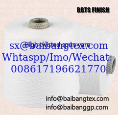 China BBTSFINISH spun polyester yarn voile yarn high twisted yarn voile fabric scarf embroidery supplier