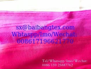 China BBTSFINISH High twisted spun full voile 44 inch Metal SelvedgPlain dyed fabric used for muslim scarf, shawel, head cover supplier