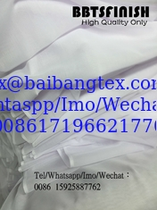 China Bluish white white voile muslim fabric hajib head cover scarf fabric made by BAIBANG BBTS FINISH HIGH quality super fabr supplier