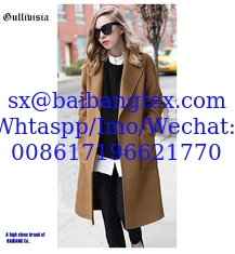 Fashion Winter lady coat high quality smooth fabric winter warmer keep coats