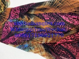 Digital spun polyester voile super twisted 2s/2z 1900t printing highest quality MADE IN JAPAN