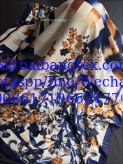 "China 100% Spun polyester voile نسج البوليستر الفوال  DIGITAL printing 58""/60"" supplier"