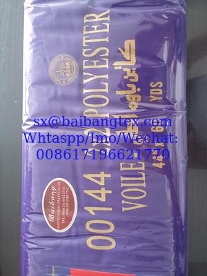 SPUN POLYESTER VOILE (00144) Stock lot