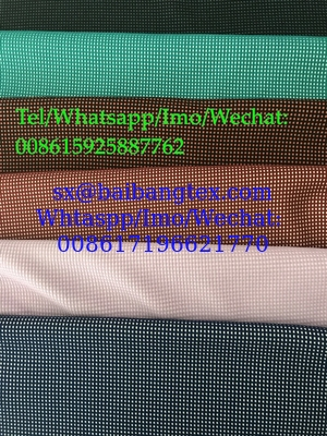 Stock knitting yarn dyed fabric